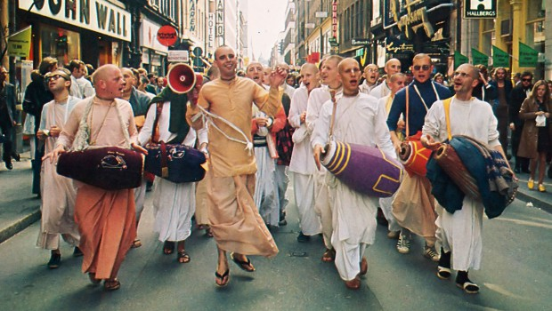 Ecstatic Hare Krishna Sankirtan Chanting of Hare Krishna in Germany 1974