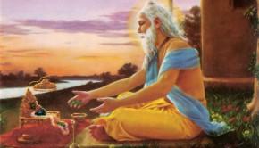 Sri Advaita Acharya Prays for the Descent of an Incarnation resulting in the birth of Sri Caitanya Mahaprabhu