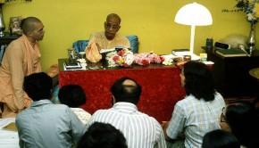 Srila Prabhuapda With Guests