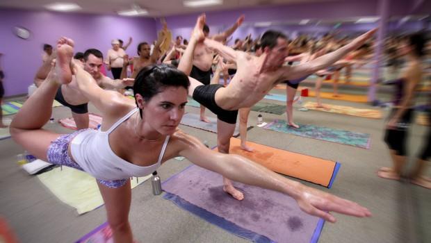 Bikrams HOT Yoga