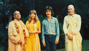 George Harrison and Srila Prabhupada