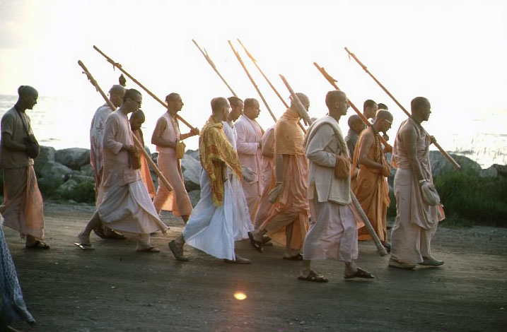 hare krishna in every town and village