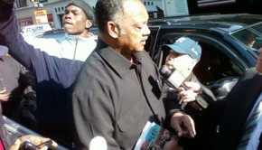 Jesse Jackson gets Prabhupada's Bhagavad-gita As It Is