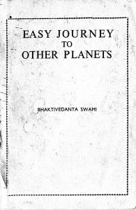 Easy Journey to Other Planets - Original edition from India