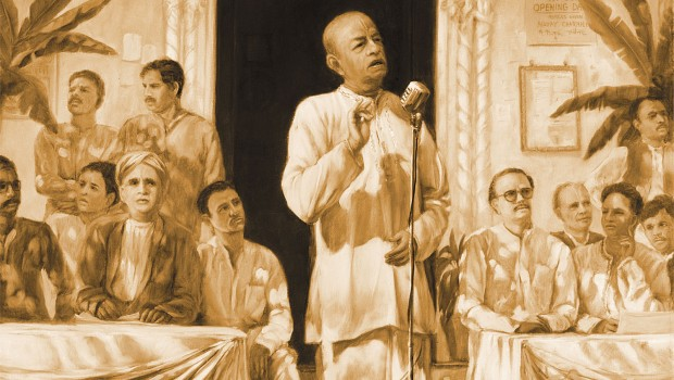 Prabhupada Speaks in the 1930s
