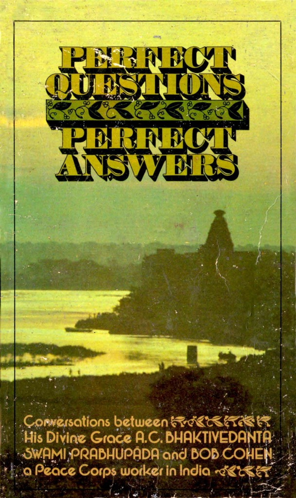 Perfect Questions, Perfect Answers (1977) PDF Download | Krishna org