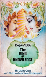 Raja-Vidya The King of Knowledge (Original 1973 book Cover)