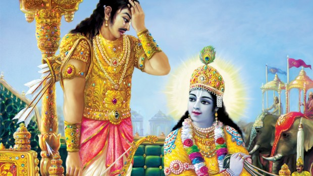 Bhagavad Gita As It Is -- Krishna speaks to Arjuna