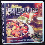 Great Vegetarian Dishes -- 11 DVD Set -- Cooking With Kurma