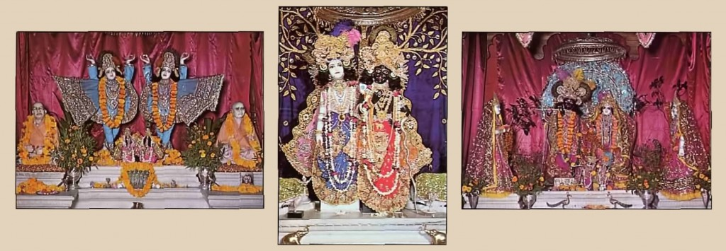 ISKCON Krishna Balarama Deities at Temple Opening