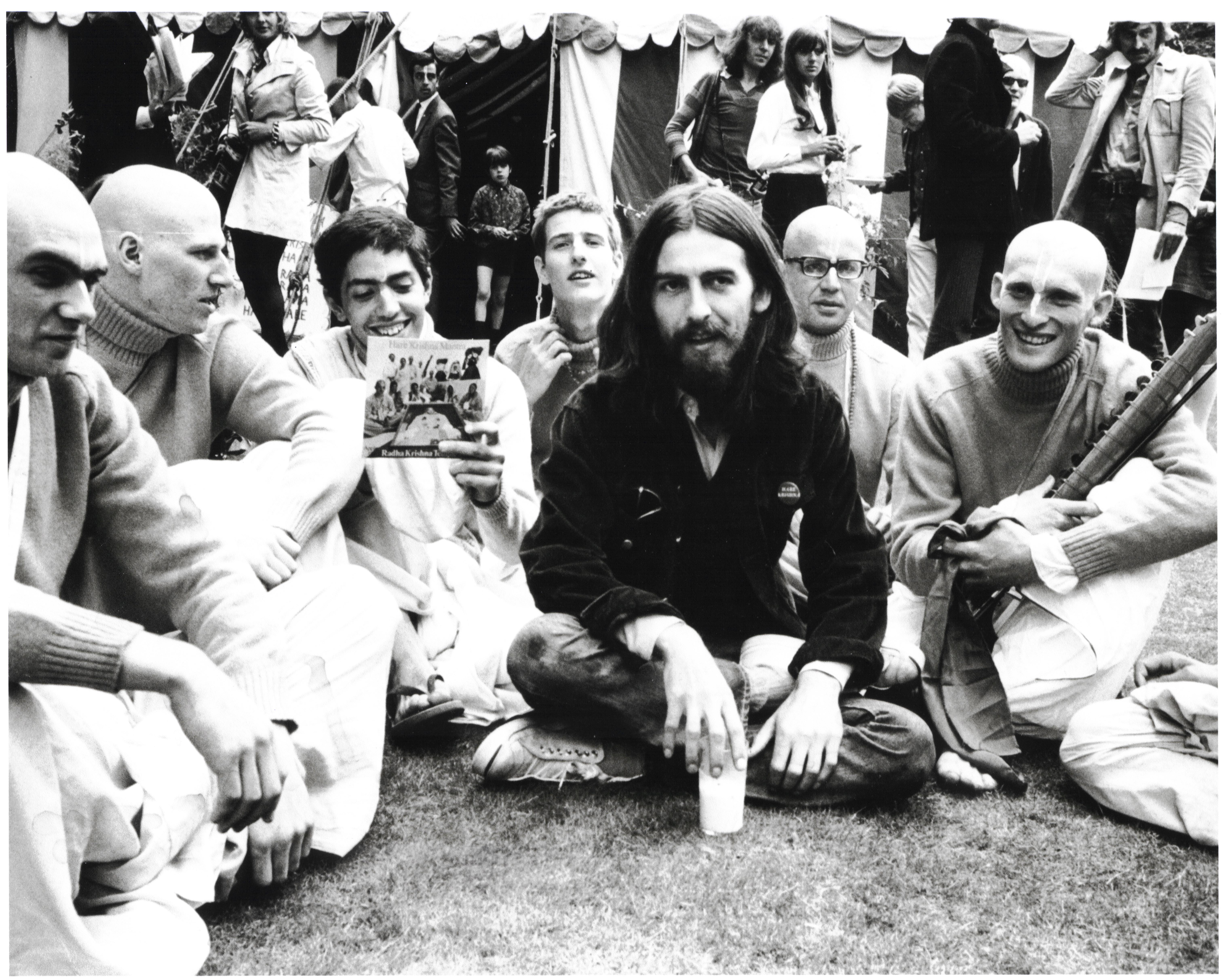 George Harrison Speaks About Living In The Material World