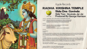Govinda 45 RPM Single Record Cover Apple Records