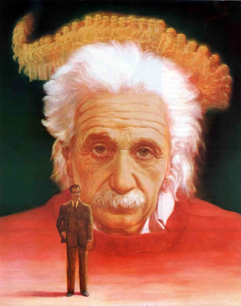 Origins Einsteins conception of the universe