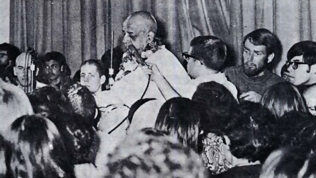 Srila Prabhupada at Ohio State University