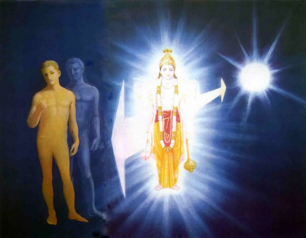 Supersoul as the link between consciousness and matter