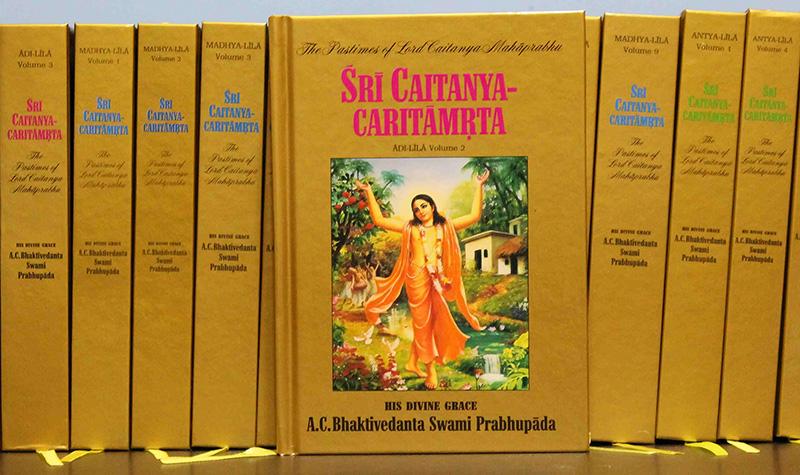 Original 17 Volume Sri Caitanya-caritamrta Back in Print