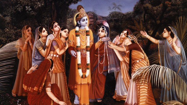 The Gopis Appreciate the Sweetness of Krishna
