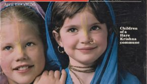 Life April 1980 cover - children of Krishna